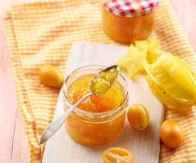 Kumquat-Karambole-Konfitüre