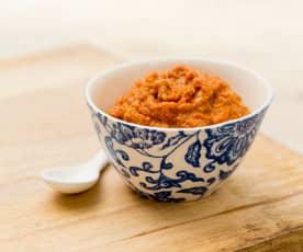 Červená thajská kari pasta