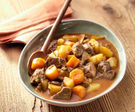 Rundsstoofvlees met aardappelen