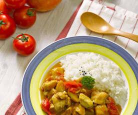 Japanse kip curry