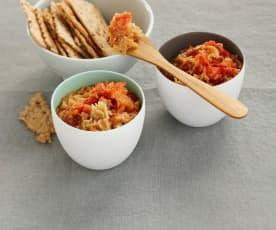 Tartinade d'artichaut à la tomate