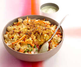 Crumble style indien