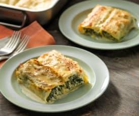 Cannelloni spinaci e ricotta