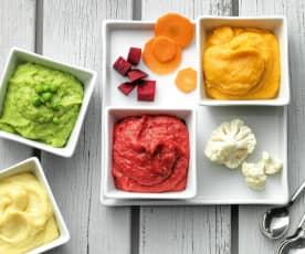 Aardappel- en groentenpuree