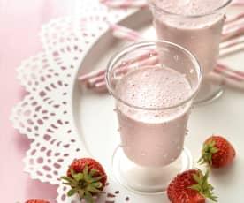 Aardbeienmilkshake