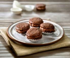 Dolcetti semplici mandorle e cioccolato