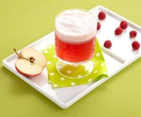 Jus acidulé pomme framboises