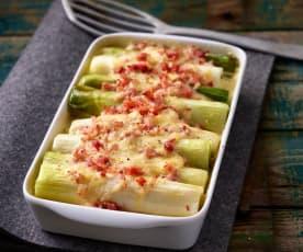 Pórkovo - bramborový nákyp