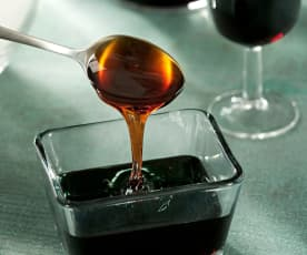 Reducción de vino oloroso Pedro Ximenez
