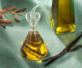 Aceites aromatizados de especias y hierbas
