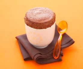 Chocolate Soufflé with Orange