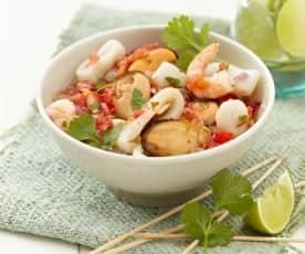 Mexikanische Salsa mit Frutti di Mare