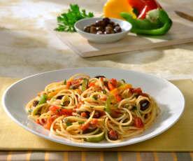Spaghettini ai peperoni