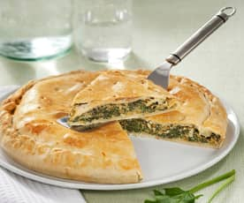 Pumpkin and Spinach Pie