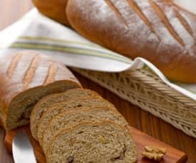 黑麥核桃麵包
