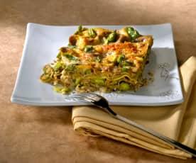 Lasagne asparagi e funghi