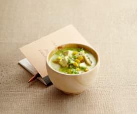 Soupe complète végétarienne
