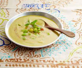 Marokkanische Bohnencrèmesuppe