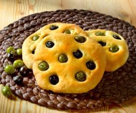 Focaccia aux olives
