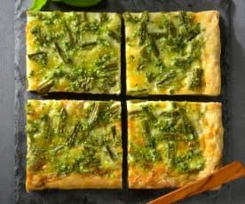 Green Bean Pizza