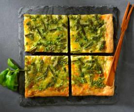 Pizza blanche à la ligurienne