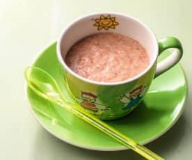 Fruithapje met ontbijtgranen