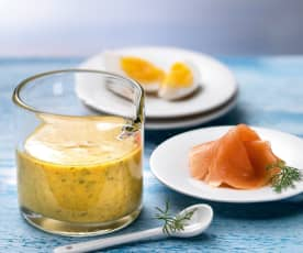 Mustard-dill sauce