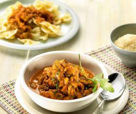 Vegetable pasta sauce