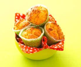 Muffins tomate et mozzarella