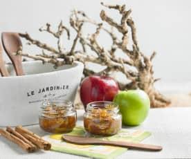 Mermelada de manzana con canela