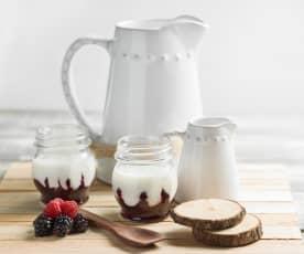 Yogurt ai frutti rossi