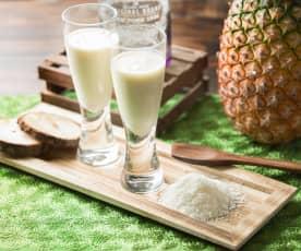 Yogurt liquido alla piña colada