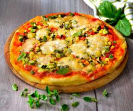 Pizza alle zucchine