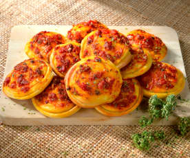 Pizzette marinare