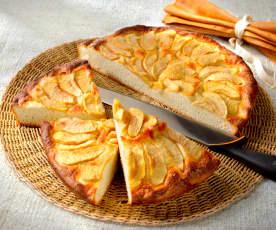 Focaccia sucrée à la pomme