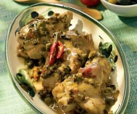 Coniglio alla siciliana