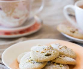 Chewy Pistachio Biscuits