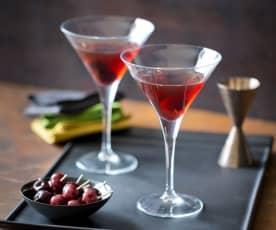 Warm Caramel Spice Martini