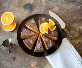 Whole Orange Cake with Spiced Syrup