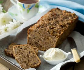 Fig and apricot tea bread
