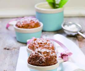 Pomerančovo-brusinkové muffiny