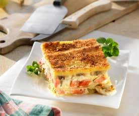Rabarbarowa lasagne