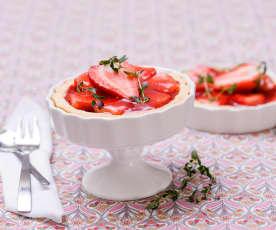 Tartaletki z truskawkami