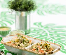 White Fish Salad