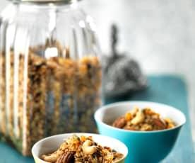 Knapperige granola