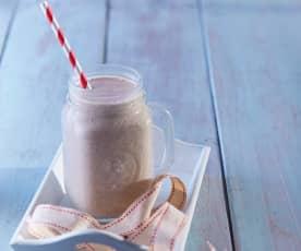 Vanilla, Banana and Coffee Milkshake
