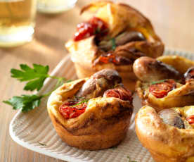 Full English Breakfast Popover