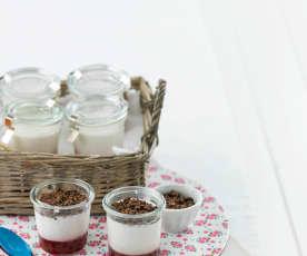 Iogurte de morango