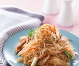 蘿蔔絲蝦米炒米粉