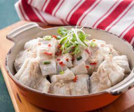 客家腐乳醬蒸魚片